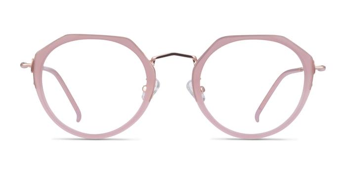 Claire Pink  Rose Gold Acétate Montures de Lunette de vue d'EyeBuyDirect