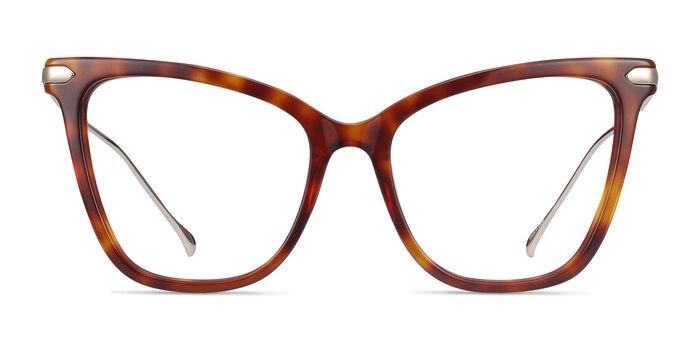 Domy Tortoise Acetate-metal Eyeglass Frames from EyeBuyDirect