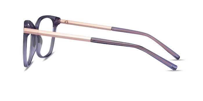 Ashley Violet Acetate-metal Montures de Lunette de vue d'EyeBuyDirect