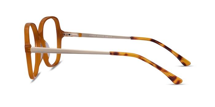 Corey Mellow Yellow Acetate-metal Eyeglass Frames from EyeBuyDirect