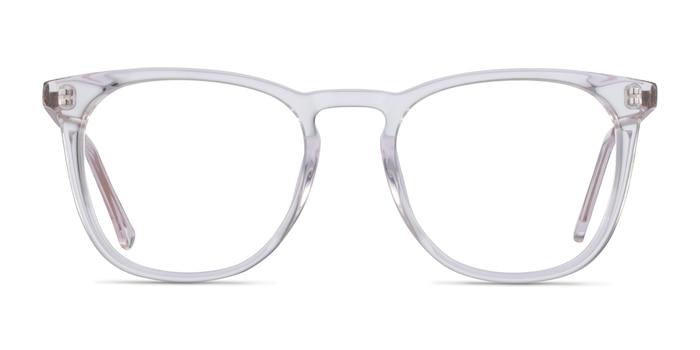 Vinyl Transparent Acétate Montures de Lunette de vue d'EyeBuyDirect