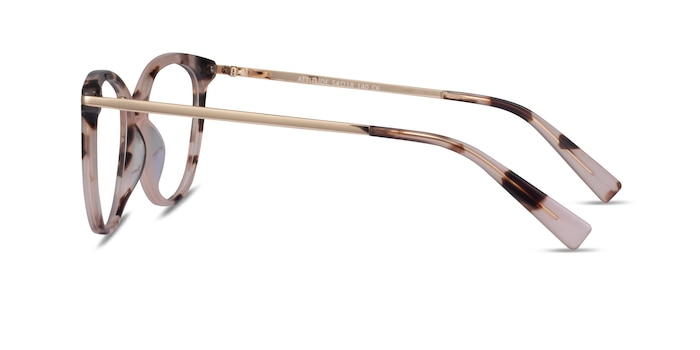 Attitude Pink Ivory Tortoise Acetate Eyeglass Frames from EyeBuyDirect