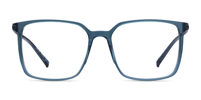 Easton Clear Blue Acetate-metal Eyeglass Frames from EyeBuyDirect