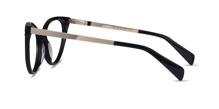Beauty Black Acetate-metal Eyeglass Frames from EyeBuyDirect