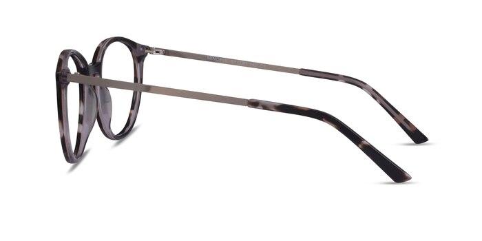Mindful Ivory Tortoise Silver Acetate Eyeglass Frames from EyeBuyDirect