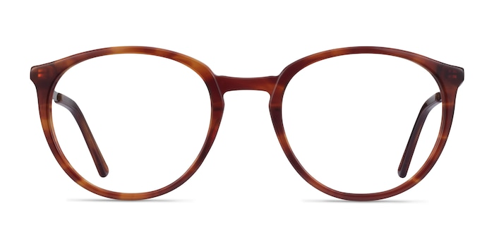 Mindful Tortoise Bronze Acetate Eyeglass Frames from EyeBuyDirect