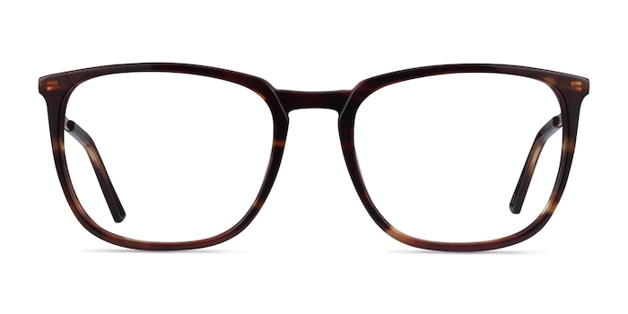 Domenico Tortoise  Gold Acetate Eyeglass Frames from EyeBuyDirect