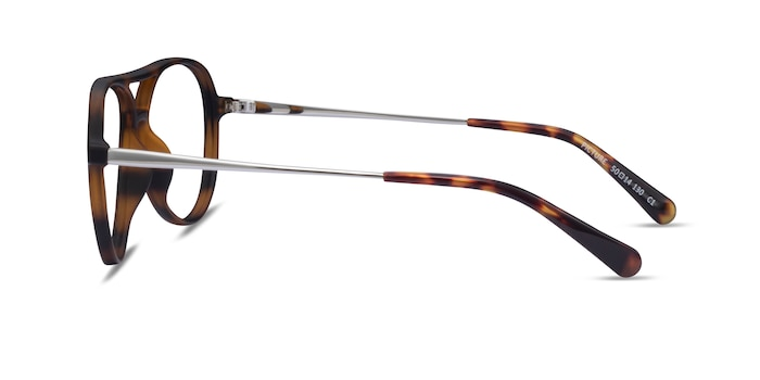 Picture Matte Tortoise   Silver Plastic-metal Eyeglass Frames from EyeBuyDirect