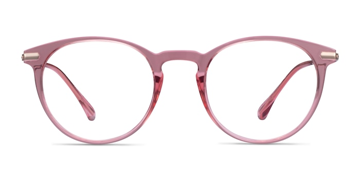Particle Clear Pink & Rose Gold Plastic-metal Eyeglass Frames from EyeBuyDirect