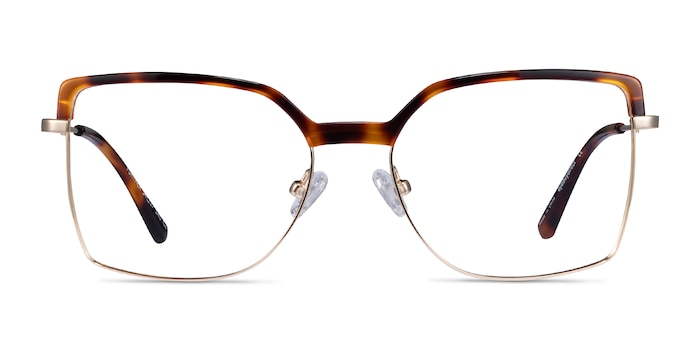 Further Tortoise & Gold Acetate-metal Eyeglass Frames from EyeBuyDirect