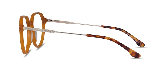 World Orange Acetate Eyeglass Frames from EyeBuyDirect