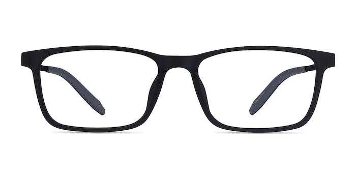 Rebus Matte Navy Black Plastic Eyeglass Frames from EyeBuyDirect