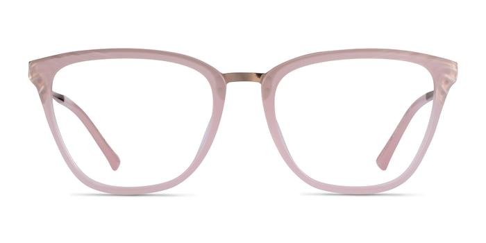 Azur Pink Acetate Eyeglass Frames from EyeBuyDirect