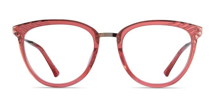 Momentous Clear Pink Acétate Montures de Lunette de vue d'EyeBuyDirect