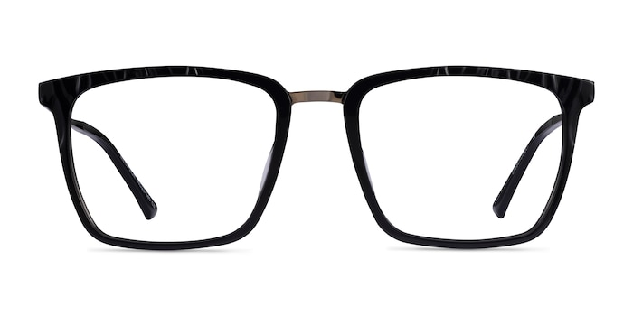 Metaphor Black Acetate Eyeglass Frames from EyeBuyDirect