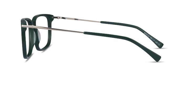 Boscus Green Silver Acetate Eyeglass Frames from EyeBuyDirect