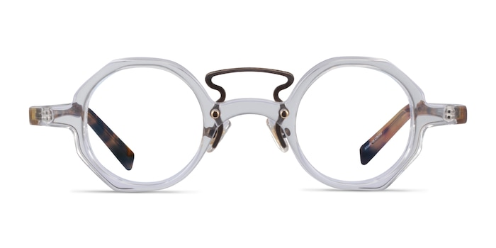 Very Clear Tortoise Acetate Eyeglass Frames from EyeBuyDirect