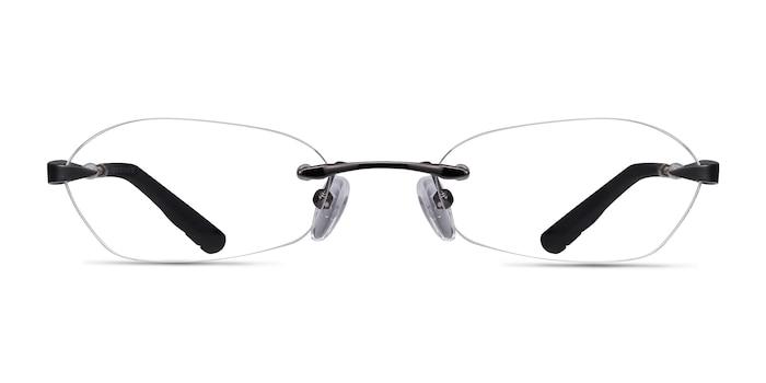 Summer Gunmetal Metal Eyeglass Frames from EyeBuyDirect