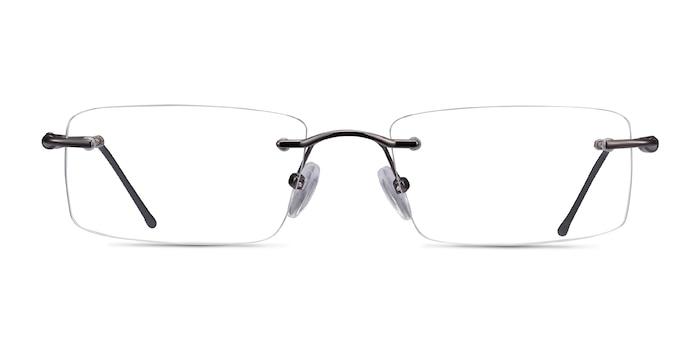Pickering Gunmetal Metal Eyeglass Frames from EyeBuyDirect