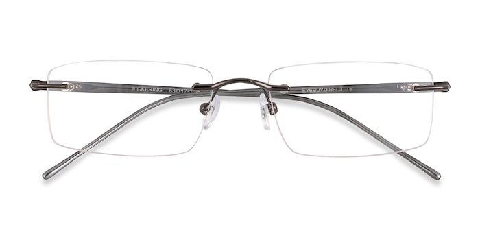 Gunmetal Pickering -  Lightweight Metal Eyeglasses