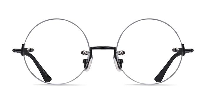 Palo Alto Black Metal Eyeglass Frames from EyeBuyDirect