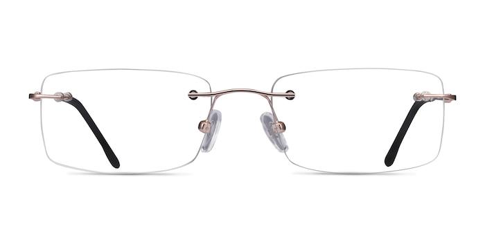 Woodrow  Golden  Metal Eyeglass Frames from EyeBuyDirect