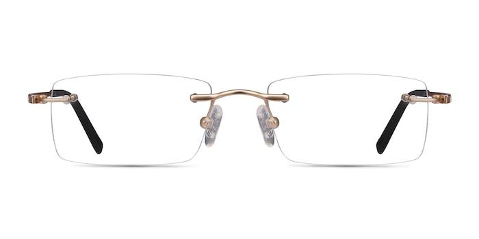 Percy Light Golden Metal Eyeglass Frames from EyeBuyDirect