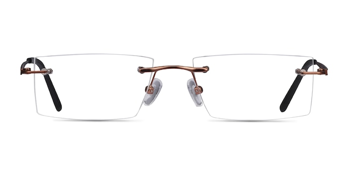 Primo Coffee Metal Eyeglass Frames from EyeBuyDirect