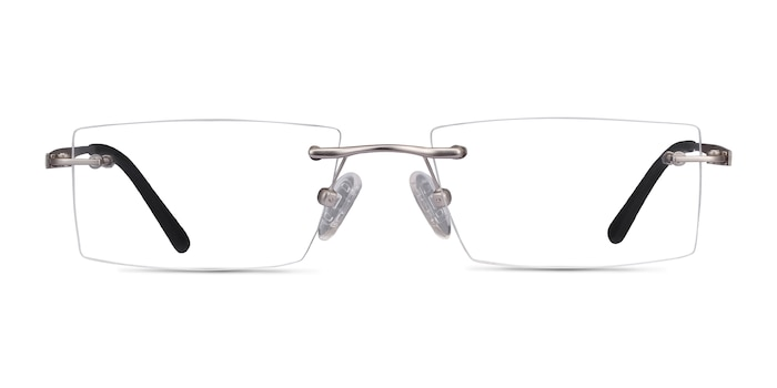 Primo Silver Metal Eyeglass Frames from EyeBuyDirect