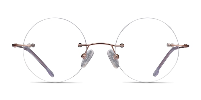 Altus Rose Gold Metal Eyeglass Frames from EyeBuyDirect