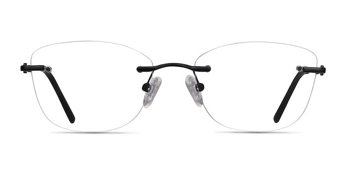 Vince Black Metal Eyeglass Frames from EyeBuyDirect