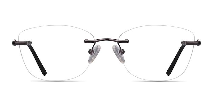 Vince Gunmetal Metal Eyeglass Frames from EyeBuyDirect