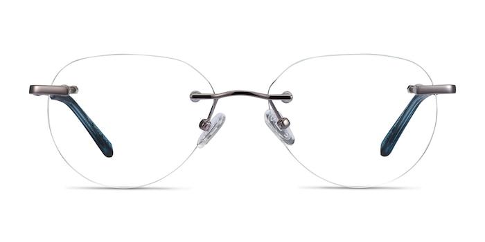 Feel Silver Metal Eyeglass Frames from EyeBuyDirect