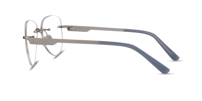 Ride Silver Light Gray Métal Montures de Lunette de vue d'EyeBuyDirect