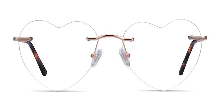 Bae Rose Gold Metal Eyeglass Frames from EyeBuyDirect