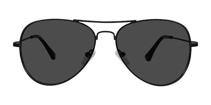 Good Vibrations Black Metal Sunglass Frames from EyeBuyDirect