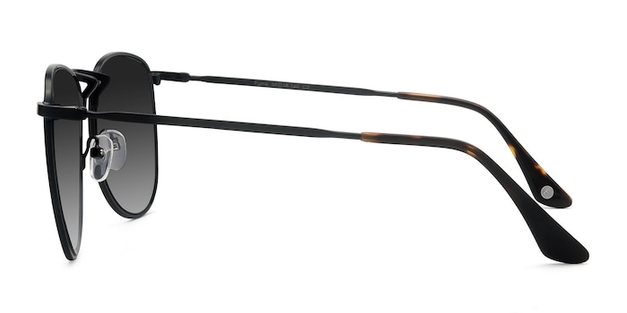 Fume Black Metal Sunglass Frames from EyeBuyDirect