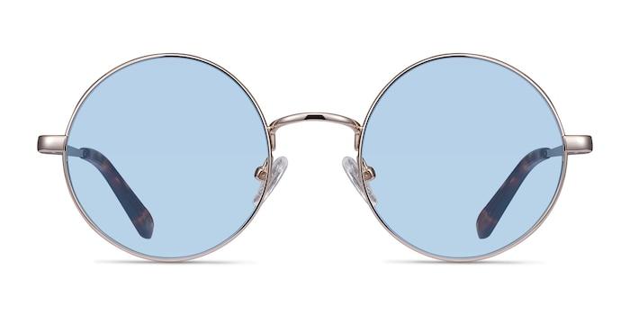 Guru  Light Golden  Metal Sunglass Frames from EyeBuyDirect