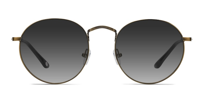 Disclosure Brown Metal Sunglass Frames from EyeBuyDirect
