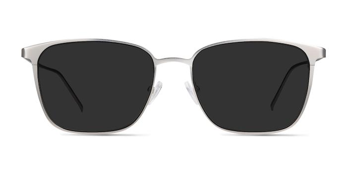 Jolt Silver Metal Sunglass Frames from EyeBuyDirect