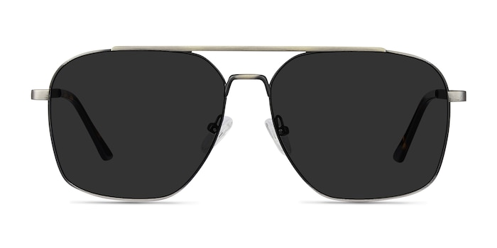 Route 66 Gunmetal Metal Sunglass Frames from EyeBuyDirect