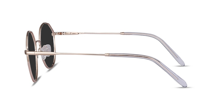 Village Rose Gold Metal Sunglass Frames from EyeBuyDirect
