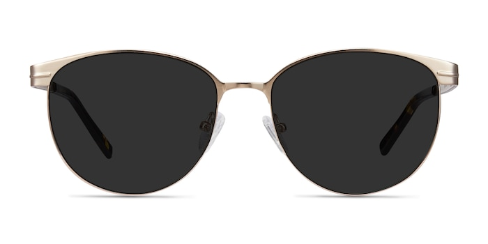 Maui Rose Gold Metal Sunglass Frames from EyeBuyDirect