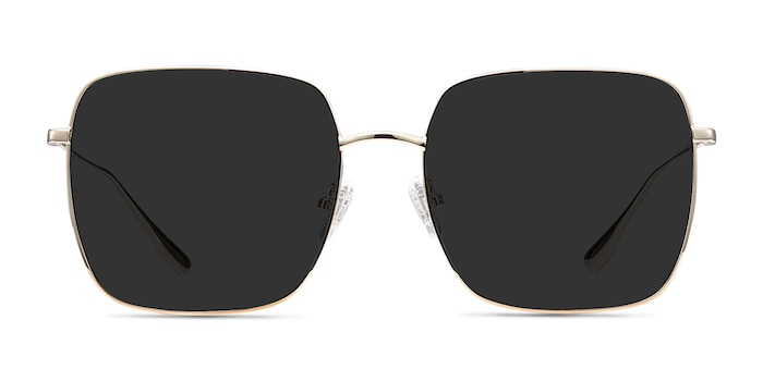 Voyager Golden Metal Sunglass Frames from EyeBuyDirect