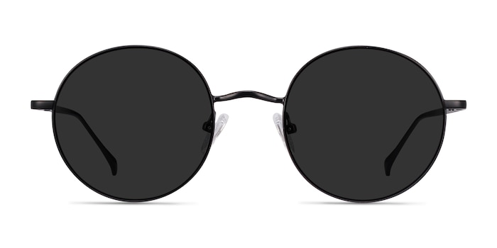 Sun Synapse Black Metal Sunglass Frames from EyeBuyDirect