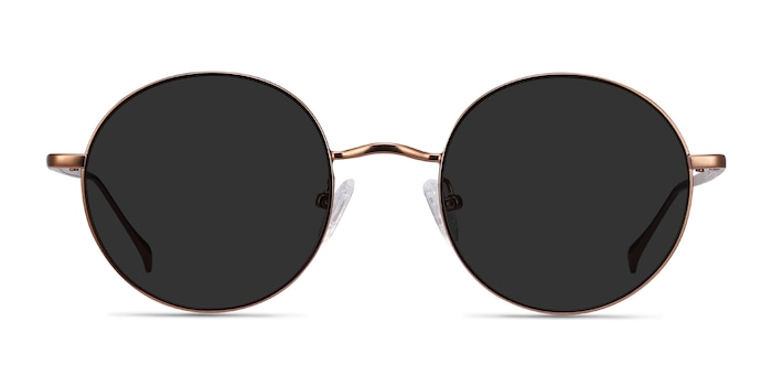 Sun Synapse Brown Metal Sunglass Frames from EyeBuyDirect