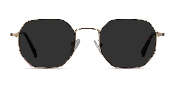 Sun Soar Golden Metal Sunglass Frames from EyeBuyDirect
