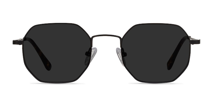 Sun Soar Black Metal Sunglass Frames from EyeBuyDirect