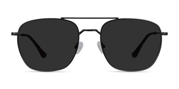Seeker Gunmetal Metal Sunglass Frames from EyeBuyDirect