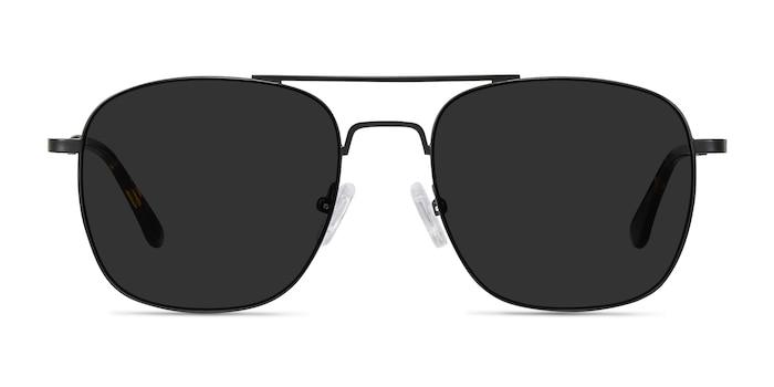 Sun Fame Black Metal Sunglass Frames from EyeBuyDirect